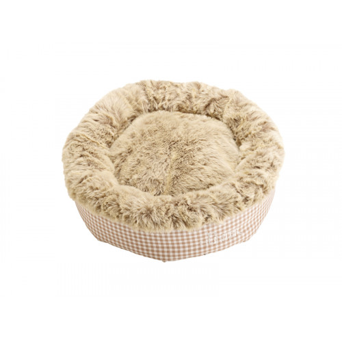Cat- and Dog bed Astana, brown checked