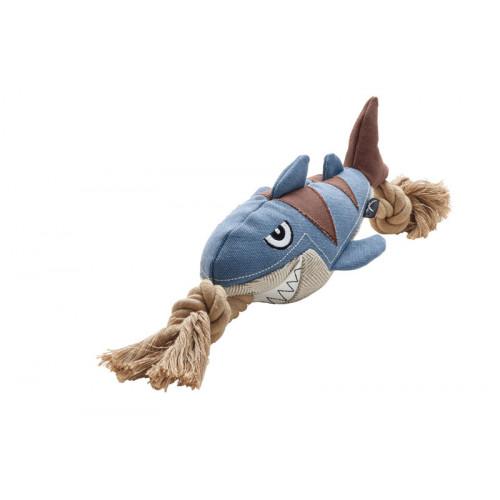 狗玩具帆布Sansibar Rantum鯊魚