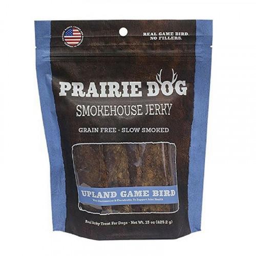 Prairie Dog Smokehouse Upland Game Bird禽鳥肉條狗零食15盎司