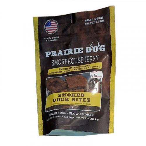 Prairie Dog Smokehouse 煙熏鴨肉塊狗零食4盎司